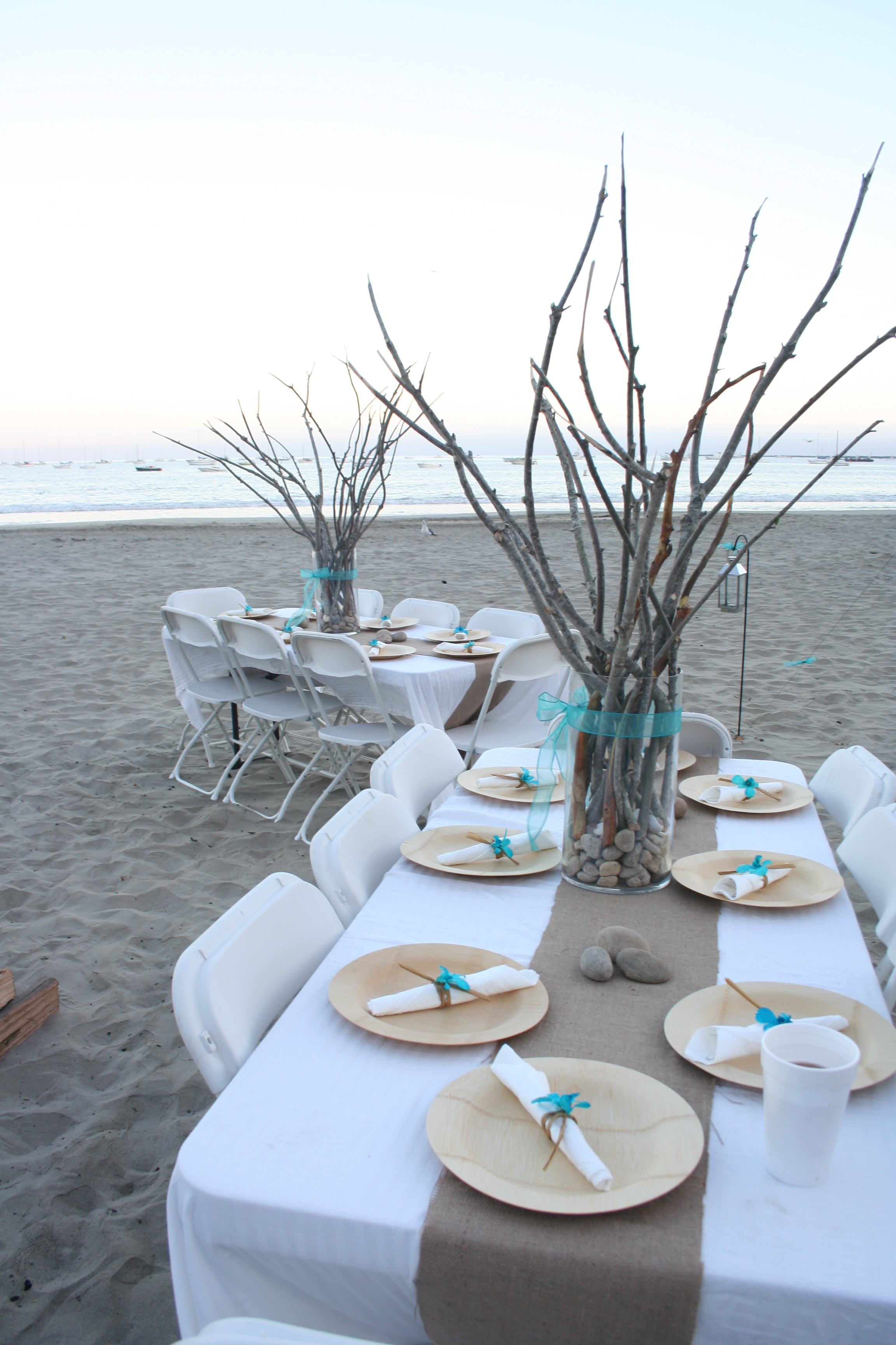 Beach rehearsal dinner for Another word for food decoration